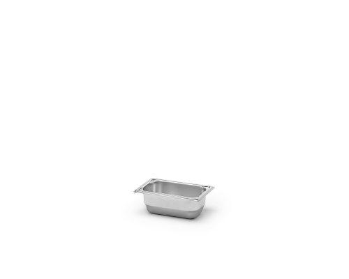 Kantin utan handtag, GN 1/9, djup 65-100 mm, Patina
