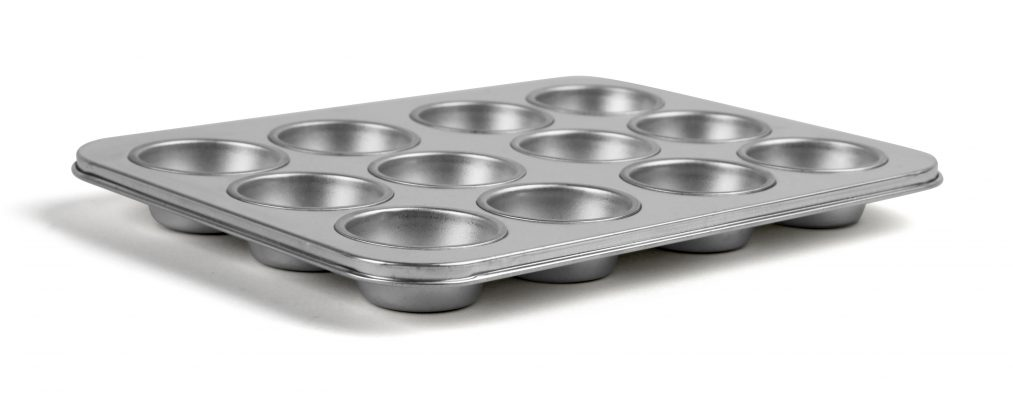 Muffinsform, 12 st, Exxent