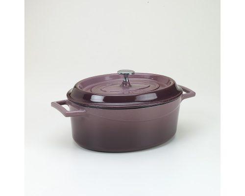 Slowcookgryta, oval, 3,3l, aubergine , Pentole Agnelli