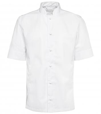 Kockskjorta, kort ärm (Vit), Segers