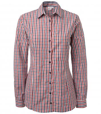 Damskjorta (Blå/Röd/Vit Ruta), Segers