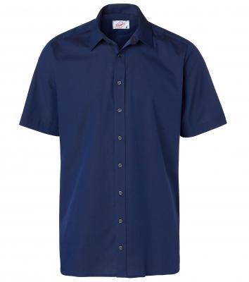 Herrskjorta, kort ärm (Midnattsblå), Segers