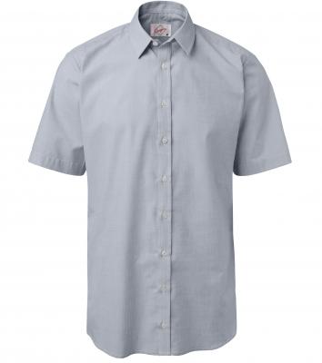 Herrskjorta, kort ärm (Ljusgrå), Segers
