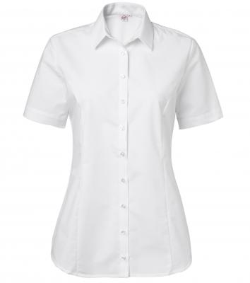 Damskjorta, kort ärm (Vit), Segers