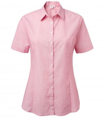Damskjorta, kort ärm (Cerise), Segers