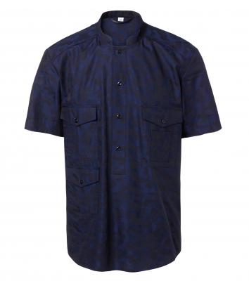 Skjorta kort ärm - Unisex (Marin), Segers