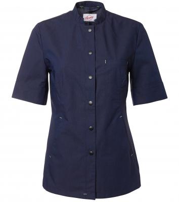 Skjorta kort ärm - dam  (Midnattsblå), Segers