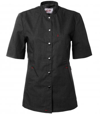 Skjorta kort ärm - dam  (Antracit), Segers