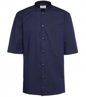 Skjorta - Unisex, kort ärm (Midnattsblå, 116 Antracit), Segers