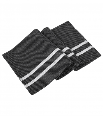 Handduk, 6-pack (Svart/Vit), Segers