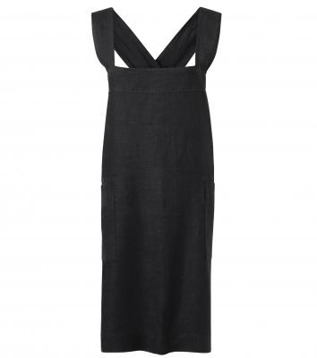Förklädesklänning (Graphite), Segers