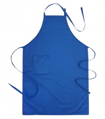 Bröstlappsförkläde (Blå), Segers