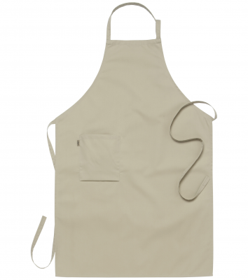 Bröstlappsförkläde (Sand), Segers