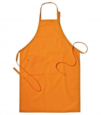 Bröstlappsförkläde (Brandgul), Segers