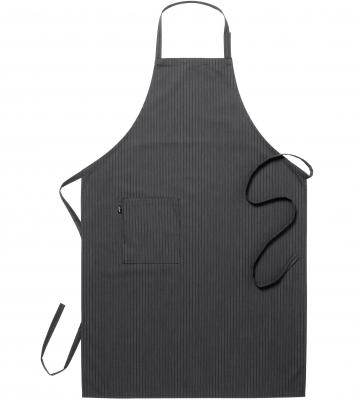 Bröstlappsförkläde (Antracit Rand), Segers
