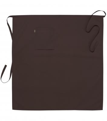 Midjeförkläde (Brun), Segers
