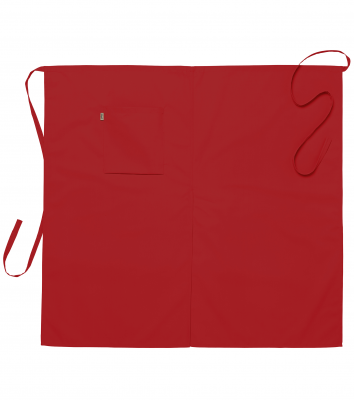 Midjeförkläde (Röd), Segers