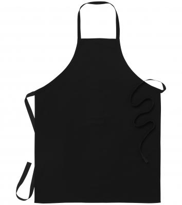 Bröstlappsförkläde (Svart), Segers