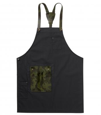 Bröstlappsförkläde (Mörkgrå), Segers