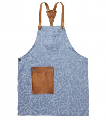 Bröstlappsförkläde (Ljusblå), Segers