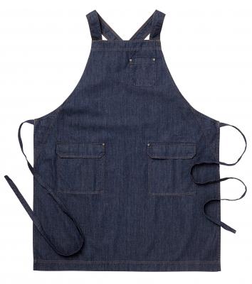 Bröstlappsförkläde (Mörkblå), Segers