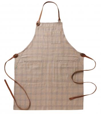 Bröstlappsförkläde (Brun /Blå), Segers