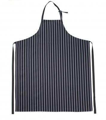Bröstlappsförkläde (Marin/Vit Rand), Segers