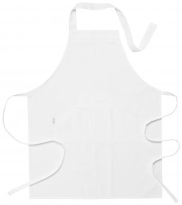 Bröstlappsförkläde (Vit, 015 Svart), Segers
