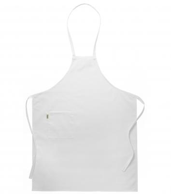 Bröstlappsförkläde - Barn (Vit), Segers