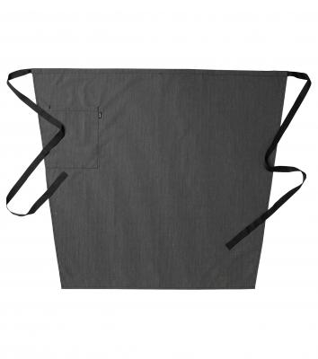 Midjeförkläde (Svart/Grå Rand), Segers