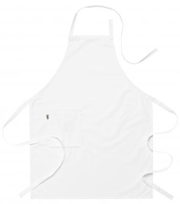 Bröstlappsförkläde (Vit), Segers