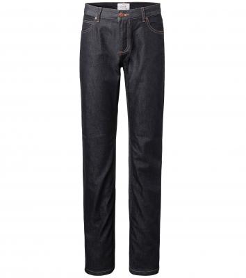 Jeansbyxa 5-ficks - Herr, Denim (Mörkblå), Segers