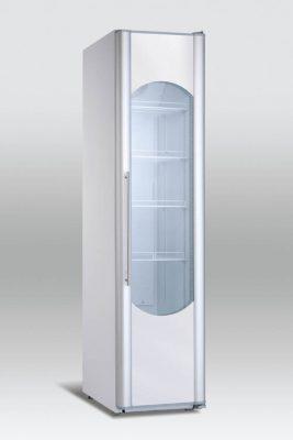 Kylskåp med glasdörr, 311 L, Scancool