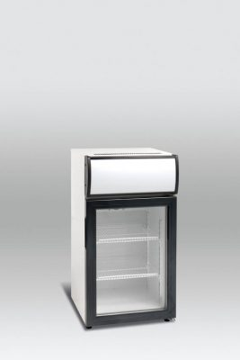 Kylskåp med glasdörr, 50 L, Scancool