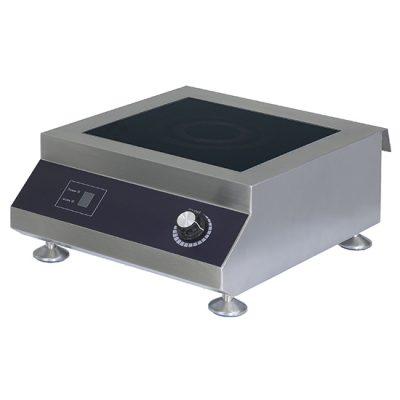 Induktionshäll, större tabletop-modell, 1-platta, 3,5 kW, Ristormarkt