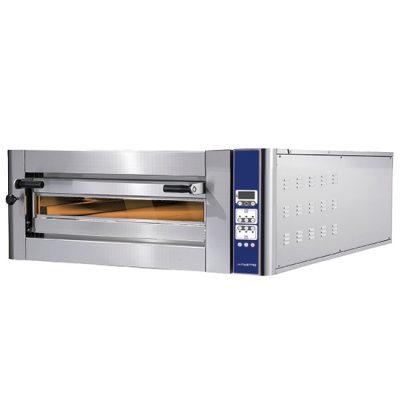 Eldriven pizzaugn för 6 pizzor ø 350 mm, digital kontroll, Mastro
