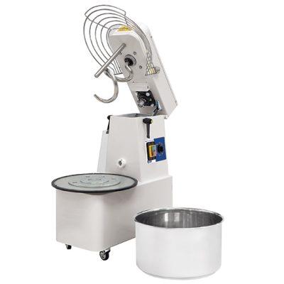 Degblandare på hjul 17kg/22 liter med 1 hastighet, timer och löstagbar skål, Mastro