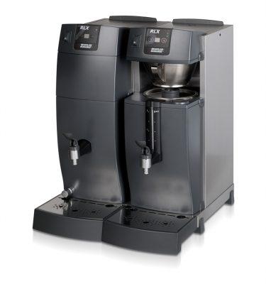 RLX 75, buffébryggare, kaffe+hetvatten, Bravilor Bonamat