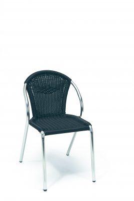 Valencia stol, svart, Xirbi