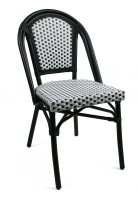 Paris stol, svartvit ruta, Xirbi