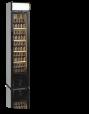 Flaskkyl med glasdörr, 182 L, Tefcold