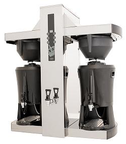 """Brygg- och serveringstorn te och kaffe, """"Tower"""", 2x5 L, Coffee Queen"""