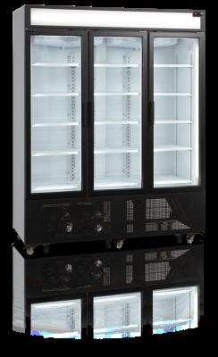 Kylskåp med 3 hängda dörrar, 1329 L, Tefcold