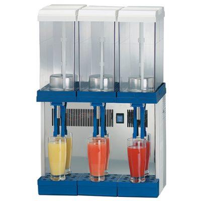 Dispenser för kylda drycker, 3x9 L, Mastro