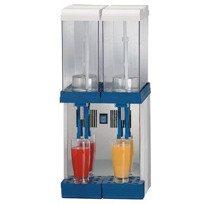 Dispenser för kylda drycker, 2x9 L, Mastro