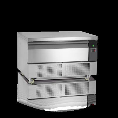 Grillkylbänk/frysbänk, GN 2/1, 1 låda, 905 L, Tefcold