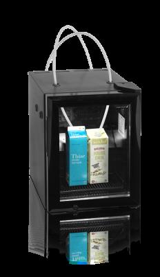 Mjölkkyl med glasdörr, 22 L, Tefcold